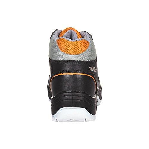 ruNNex 5308-47 Bottes de sécurité TeamStar S3 Taille 47 Noir/Orange noir
