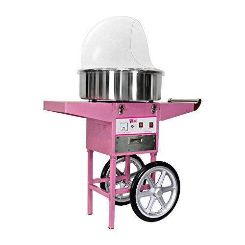 Royal Catering – RCZC-1200E – Candy Floss Maker with Wagon – 1200 W – cover included