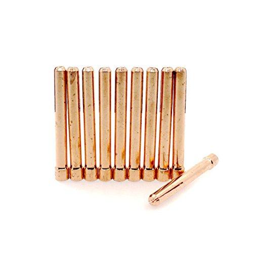 10x Spannhülse 1,0 mm-10N22 für WIG-TIG 17/18/26 - Miller Collet