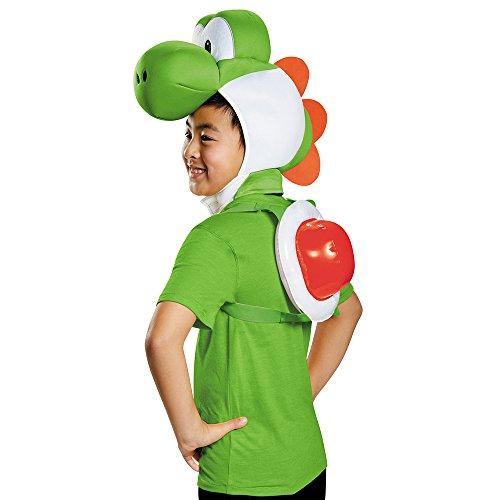 Super Mario 13387-Set Déguisement Yoshi (enfant)