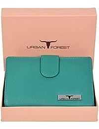 Urban Forest Women's Wallet(Light Blue,Ubf101Lbl5001)