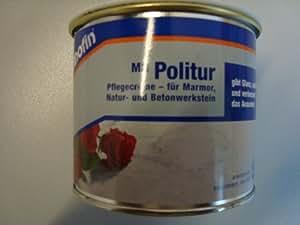 Lithofin MN Politur-Creme Schützt und pflegt. Macht wasserabweisend und erzeugt exzellenten Glanz. Ideal für Küche, Bad, Tische u.ä. kleine Flächen aus polierten Naturstein