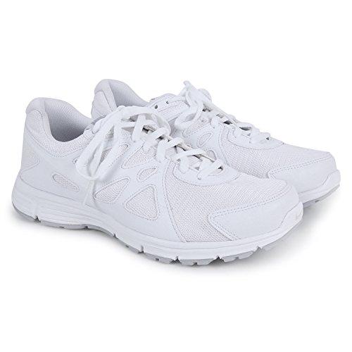 Nike White School & Sport Shoe for Men (UK/India Size 8)