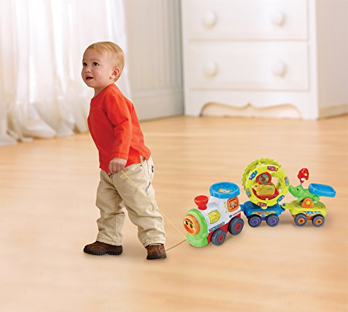 Image of Vtech Baby Toot-Toot Animals Train Toy - Multi-Coloured