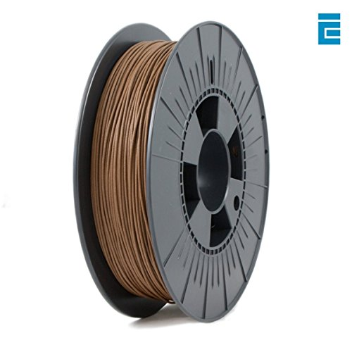 ICE FILAMENTS ICEFIL1WOO160 Wood Filament, 1,75 mm, 0,50 kg, Barnyard Brown