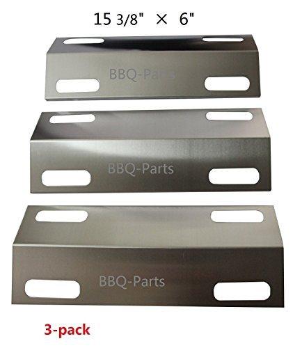 99351(3er Pack) Edelstahl wärmeschutzblech für Gasgrills von Ducane Modelle (153/20,3x 15,2cm) -
