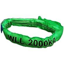 Umfang 1m 750kg Einweg Bandschlinge Hebegurt Rundschlinge Hebeband Transportgurt Kranschlinge Nutzl/änge 0.5m