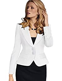 07903473186 Value Buy Go Go Go Women s Fashion Long Sleeve Slim Fitted Ladies Office Blazer  Suit Jacket
