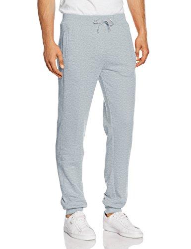 Urban Classics Straight Fit Sweatpants, Pantalon Homme Gris - Grau (lightgry 144)