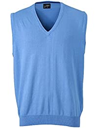 Classical Men's Sleeveless Cotton Sweater