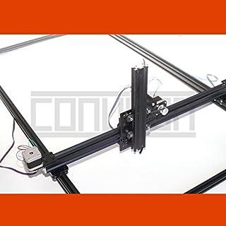 3DTwin XYZ Linearführung (1x1m) mit USB CNC Schrittmotor Steuerung und Software