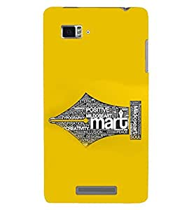 PRINTSWAG TYPOGRAPHY Designer Back Cover Case for LENNOVO VIBE ZK910