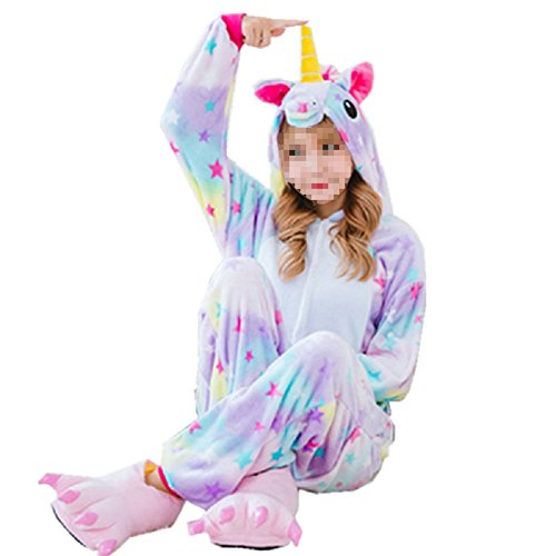 - 41HeuzqzbiL - Mcdslrgo Unisex Animal Costume Onesie Adults Sleepwear Costume Anime Cosplay Christmas Pajamas