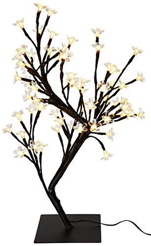 CREATIVE MOTION 64-Piece Herzlich LED-Lichter Top Cherry Blossom Baum, 17.71-inch, weiß (Motion-lampe Creative)
