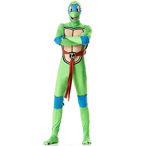 WWAVE Halloween-Ninja Turtle Kostüm Cosplay Erwachsene Rolle Spielen Kostüm Kostüm