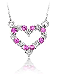 Diamond Manufacturers - Pendentifs Femme avec 8 diamanten - Or blanc 375/1000 (9 cts)