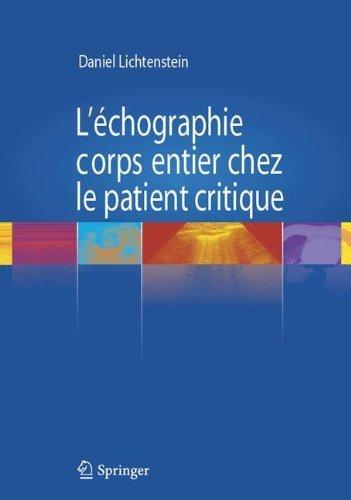 L'chographie corps entier chez le patient critique de Daniel Lichtenstein (22 septembre 2011) Broch