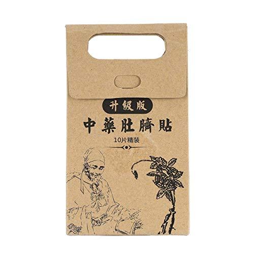 10 stücke Potent Abnehmen Paste Aufkleber Dünne Taille Bauch Fettverbrennung Patch Chinesische Medizin Abnehmen Produkte für das Gesundheitswesen (braun) JBP-X