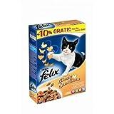 FELIX Sensations Meaty mit Geflügel 1kg, Trockenfutter, Katzenfutter#