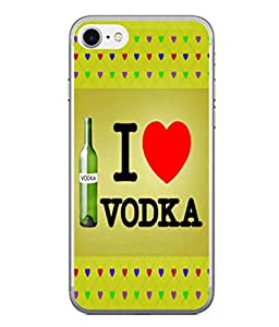 PrintVisa Designer Back Case Cover for Apple iPhone 6::Apple iPhone 6S (Illustration Abstract Text Caption Message Heart Shape)
