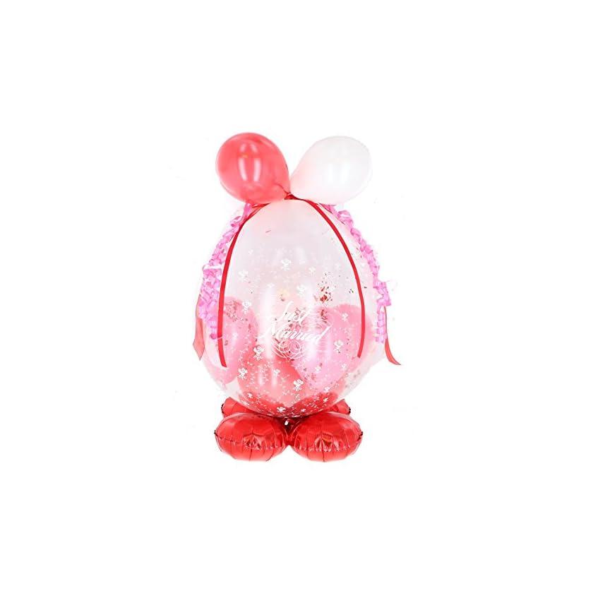 Befüllter Geschenkballon - das ideale Geschenk; Standard-Version für Geburtstag, Hochzeit, Baby etc. 1