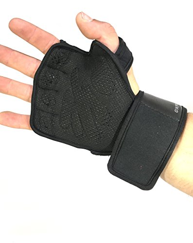 Weight-Lifting-Gloves-By-Onpoint-Fitness-Ultra-Grip-Workout-Crossfit-Bodybuilding-Lightweight-Breathable-Fingerless-Wrist-Support-Strength-Training