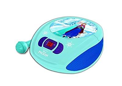 Disney Frozen - Reproductor Radio CD Portátil con Micro (Lexibook RCD108FZZ) de Lexibook
