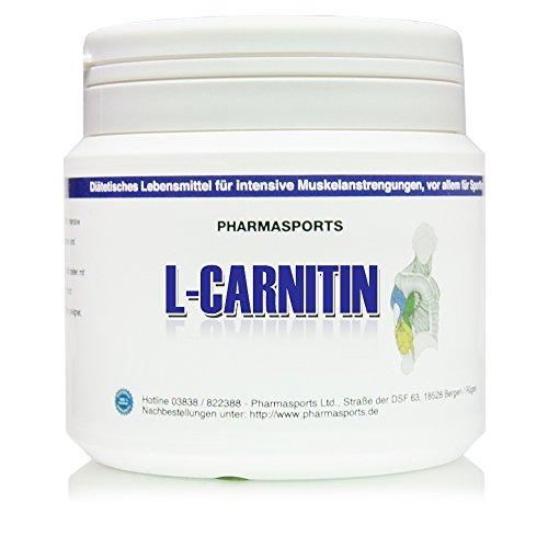 Reines L-Carnitin Pulver 250g : Spitzen Qualität 100{04c2ea64aaed453acbe29aebcf79978ffcd3818df4008ee2c54fec6f82851771} reines Pulver Aminosäure Energie Stoffwechsel