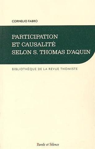 Participation et causalité selon S. Thomas d