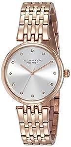 Giordano Analog Silver Dial Women's Watch - P2051-22