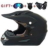Motocross MTB Helm Herren Motorradhelm DH Motorrad Downhill Fullface Helm Dirt Bike Crosshelm...