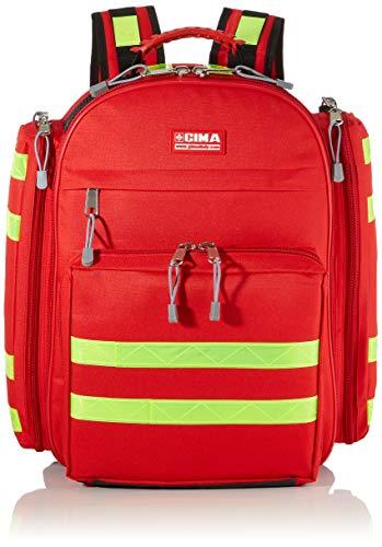 GiMa logic-1Rucksack, 40cm l x 20cm W x 47cm H, rot, Notfall, Trauma, Rescue, medical, Erste Hilfe, Krankenschwester, Paramedic Multi Pocket Tasche