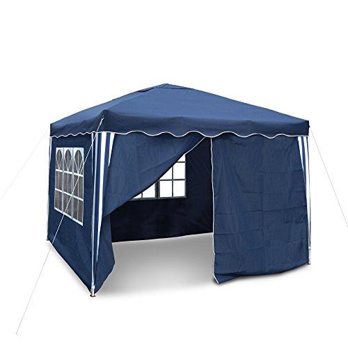JOM Garten-Pavillon Dach blau, Material Oxford 200d Innen beschichtet mit pvc.