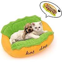 NKLD Accesorios para Mascotas: Cama para Mascotas, diseño de Perro Caliente Lindo Cachorro Suave