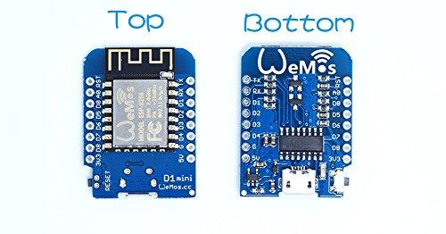 WeMos D1 mini V2 ESP 8266 Node MCU NodeMCU Lua Arduino WiFi IoT