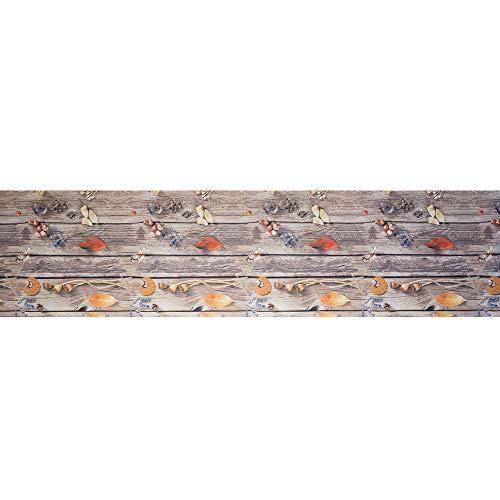 Tappeto passatoia antiscivolo lavabile aderente stampa digitale romantica - romantica - 50x250 cm