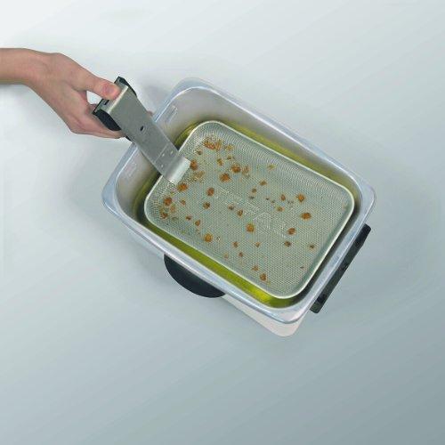 Tefal FR4046 Fritteuse Filtra Pro Inox & Design / 2.300 Watt / Timer / wärmeisoliert / abnehmbarer Ölbehälter / Edelstahl - 3
