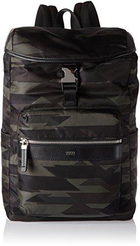 HUGO HUGO Rucksack Digital L_Backpack mit Camouflage-Print Mehrfarbig (Open Miscellaneous)