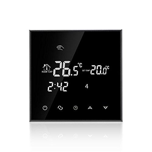 16A controlado por smartphone APP - LCD Pantalla Táctil - WIFI inalambrico termostato programable digital - 2 opciones