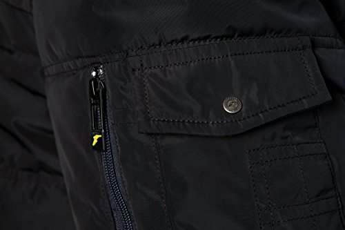 Goodyear Herren WINTERJACKET KEY WEST Black