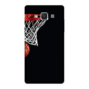Stylish Basket Ball Multicolor Back Case Cover for Samsung Galaxy A5