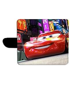 KolorEdge Printed Flip Cover For HTC Desire 616 - Multicolor(50KeMLogo8005HTC616)