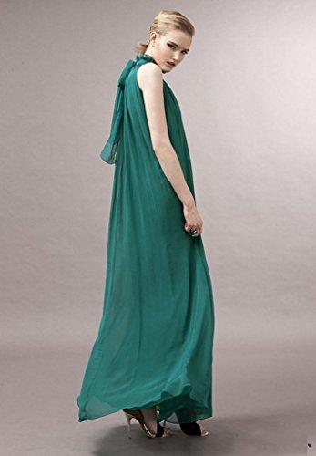 ERGEOB Damen Sommer Kleid Elegante Cocktail Party Floral Kleider ...