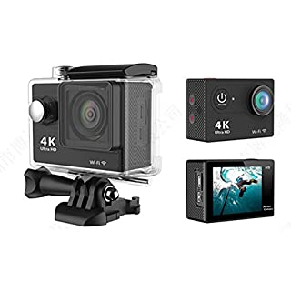 MOHOO 1080P Sport Action Kamera H9SE Ultra HD WiFi 4K Weitwinkel HD 170 ° DV Display Mini Ultra 2 '' LCD-Display 30M DV wasserdicht Aktion/wasserdicht Sport Kamera Camcorder mit Fernbedienung