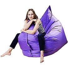 Puf gigante, suave, 100% impermeable para exterior, interior, jardín, juegos de relajación, diseño cómodo