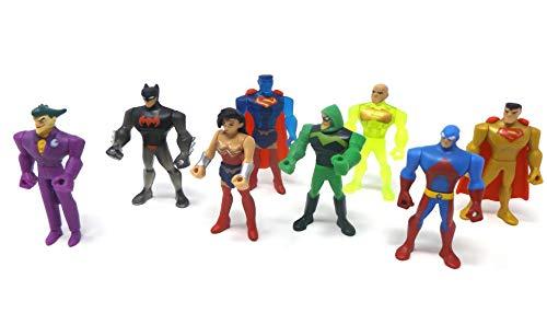 den Super Heroes Actionfiguren Tortenfigur für die Torte zum Kindergeburtstag, Tortendeko, Deko Figuren ()