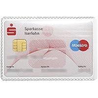 Durable 213619 Etui souple Format carte de crédit Transparent