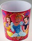 BWG Disney Princess - Cestino per la Carta per la cameretta dei Bambini, Colore: Rosa