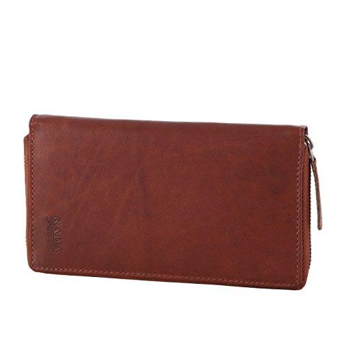 Gucci Leder Tan (Rada Nature Badalona Geldbörse für Damen, groß mit vielen Fächern ausechtem Leder, 12 Kreditkartenfächer, Portemonnaie, Vintage-Geldbeutel (tan))