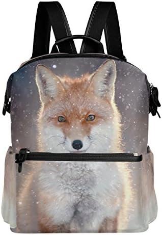 Alaza Alaza Alaza Fox Snowflake casual zaino leggero da viaggio zaino Student School bag c3557a